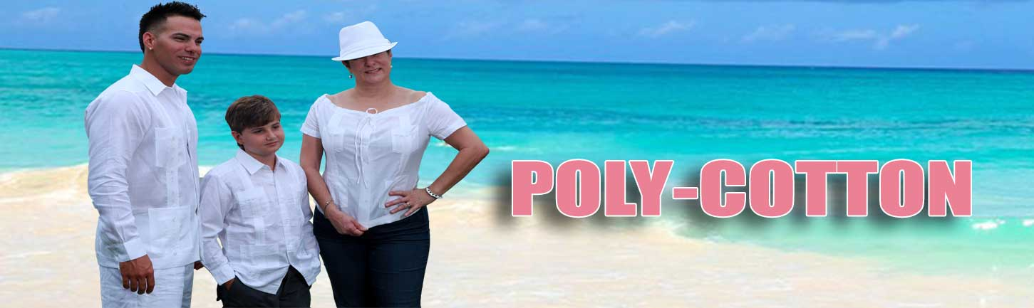 Poly-Cotton Guayaberas