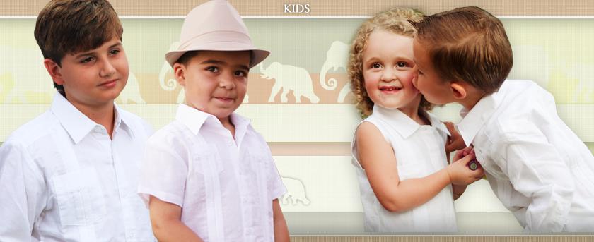 Kids Guayaberas