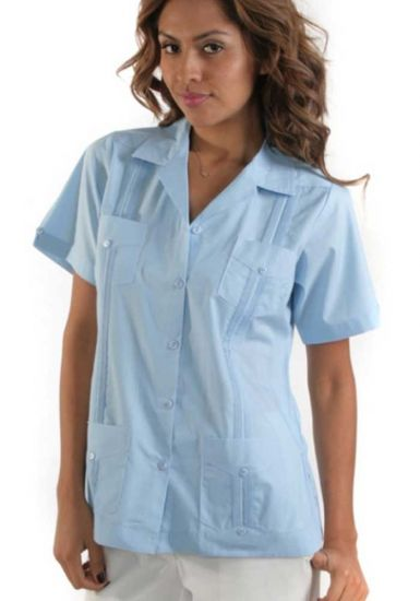 Guayabera Unfiform White ladies