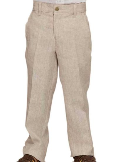 Classic Boys Linen Pants. Linen