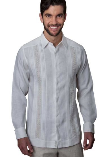 Guayabrera Formal Elite Linen. Handmade.