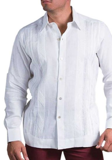 Wedding Linen Shirt . Formal. Italian Linen. Exquisite Design. White Color. Back Orders or Demand.