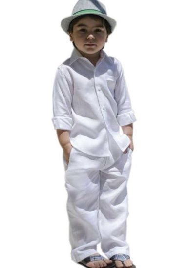 Linen set for boys