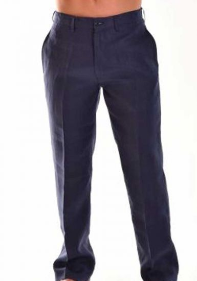 Linen Classic Pants For Men. Linen 100 %. Best Seller Pants. Good Quality Linen. Navy Color.
