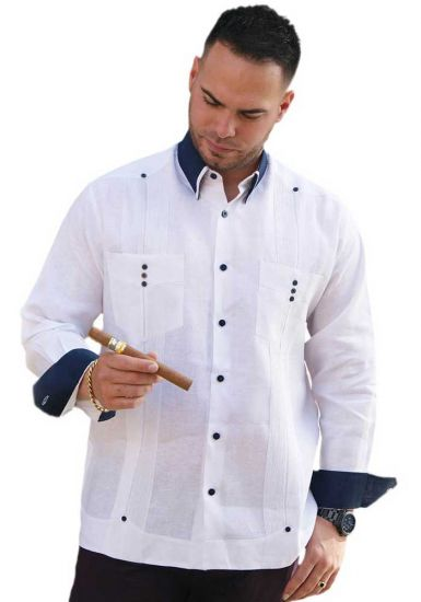 Fashion Linen Premium Shirt. French Cuff Slim Fit. Modern. Back Orders or Demand.