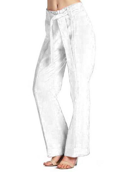 Pants  Guayaberas Ladies. Drawstring  Linen  100 % Pants.