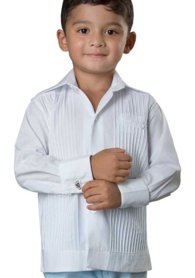 Deluxe Cotton Shirt. High Quality for Kids. 100% Cotton. Long Sleeves. Back Order. White Color. Back Orders or Demand. RUN SMALL.