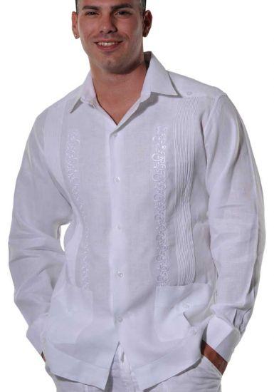 High quality formal guayabera