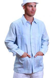 Guayabera D' Accord Linen, Short Sleeve. Premium Linen.