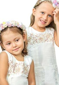 Girls Guayabera Dress. Beautiful Dress. Party Linen Dress. Wedding. High Quality. Linen 100 % BACK ORDER. Any Color. White Color.