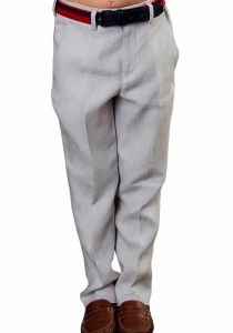 Classic Linen  Pants. Comfortable for Kids. Wedding Classic Pants for Kids. Any Age. Back Orders. Linen Premium. Gray Color.