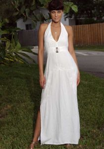Fashion Tropical Dress. Sexy for Women. Peru Cotton. 100 %