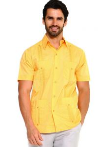 Guayaberas Uniform Yellow