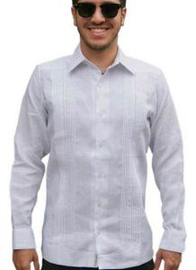 slim fit perfect fit guayaberas style