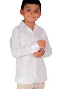 Finest Formal wedding Guayabera lace for KIDS.
