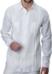 Traditional mexican Guayabera